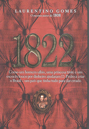 Laurentino Gomes - Cover of 1822