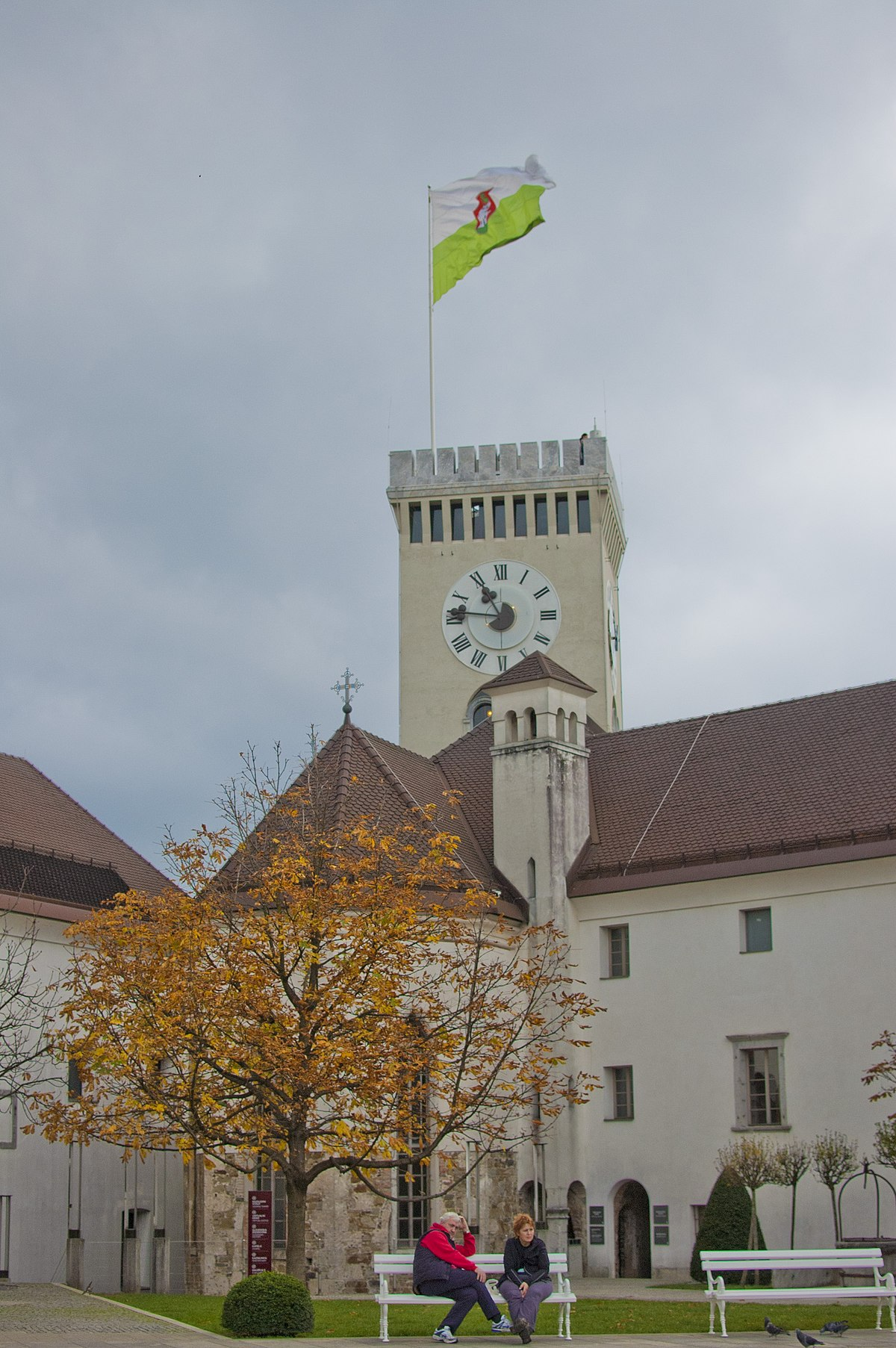 Ljubljana Castle Wikipedia