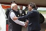 Llegada de Narendra Modi, primer ministro de India (45378999324).jpg