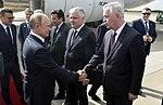 Llegada de Vladimir Putin, presidente de Rusia (45204073385).jpg