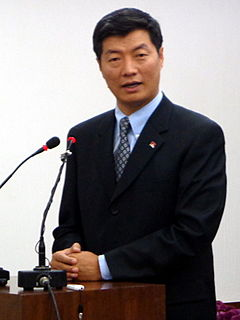 Lobsang Sangay President of the Tibetan Government in Exile
