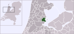 Location of Waterland
