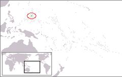 Położenie Guamu