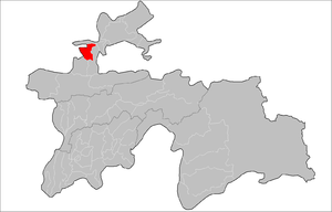 Location of Istarawshan District in Tajikistan.png