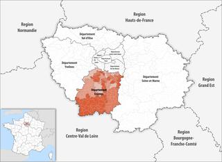 Lage des Essonne