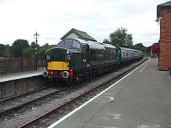 Loco D6729 at North Weald 2012.JPG