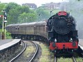 Locomotive approaching Ramsbottom Station - geograph.org.uk - 818517.jpg
