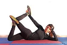 220px Lohan yoga goddess of mercy pose yoga asanas Liste des exercices et position à pratiquer