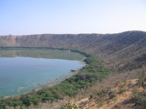 Buldhana district - Different side of the crater during non-monsoon days