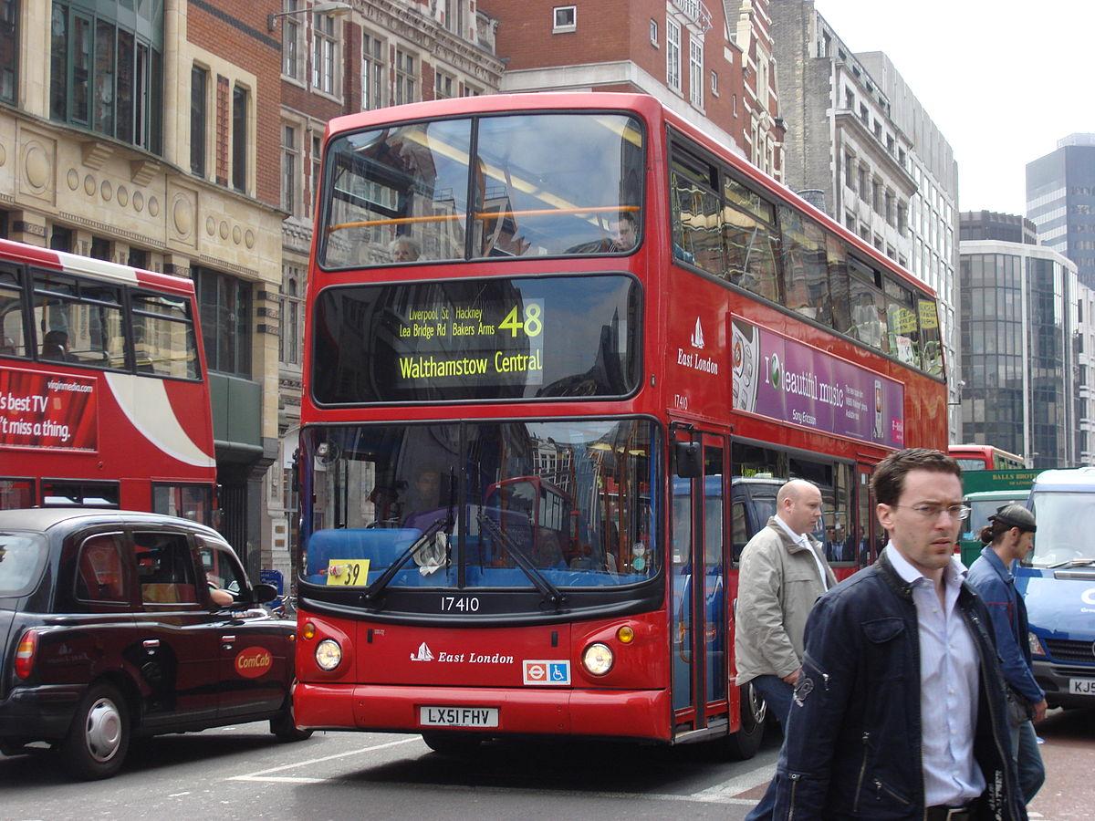 Lond 253 Nska Autobusov 225 Doprava Wikip 233 Dia