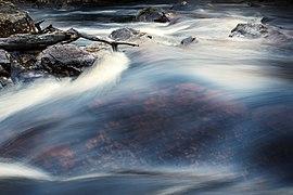 Long expo waterfall at Danska Fall, Halmstad Sweden.jpg