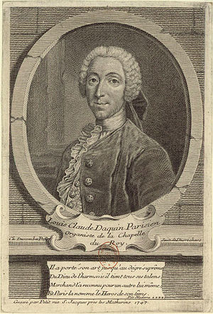 Daquin, Louis Claude (1694-1772)