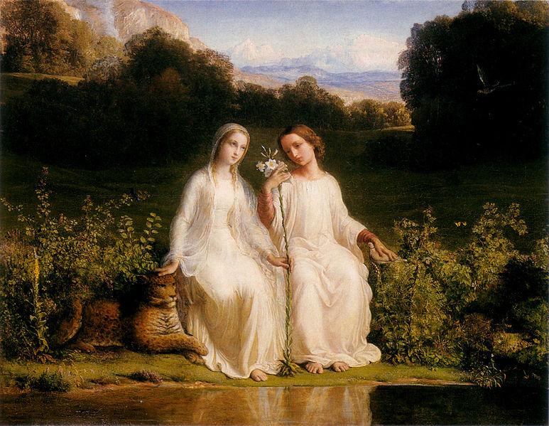 File:Louis Janmot - Poème de l'âme 11 - Virginitas.jpg