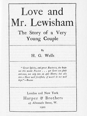 Love and Mr Lewisham - Image: Lov and Mr. Lewisham title page