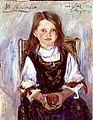Lovis Corinth - Wilhelmine im Trachtenkleid 1913.jpg