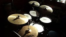 Ludwig Custom Elite drum-kit.jpg