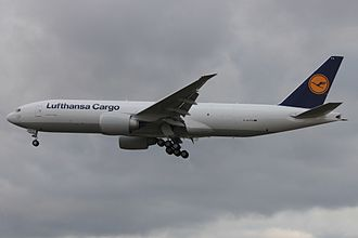 Lufthansa Cargo - D-ALFA, the first Boeing 777F delivered to Lufthansa Cargo