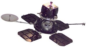 Lunar Orbiter program - Lunar orbiter spacecraft (NASA)