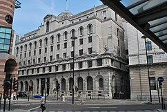 Antigua sede del Midland Bank, Poultry, Londres