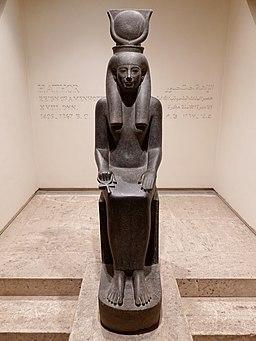 Luxor Museum Statue Hathor 01