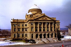 Luzerne County Manager - The Luzerne County Courthouse in Wilkes-Barre, Pennsylvania