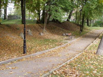 Park miejski we Lw�wku �l�skim