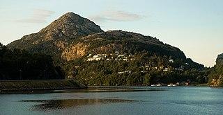Bergen og omland District in Vestland, Norway