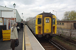 Lymington Town railway station MMB 06 421497.jpg