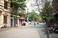 Một phần phố Quang Trung, đoạn gần ngã ba phố Quang Trung giao với phố Đô Lương, thành phố Hải Dương, tỉnh Hải Dương.jpg