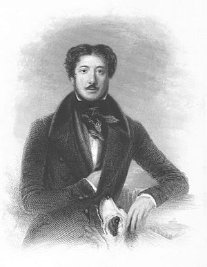 William Hamilton Maxwell - Image: MAXWELL(1844) Portrait in his 'Wanderings in the Highlands and Islands'