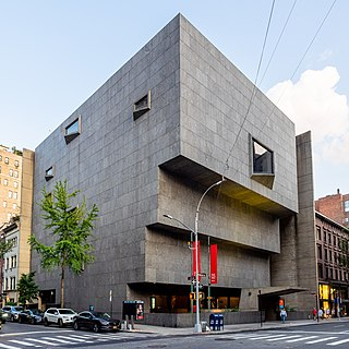 Met Breuer Art museum in New York, NY