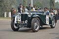 MG - TC Midget - 1946 - 54.4 hp - 4 cyl - Kolkata 2013-01-13 3349.JPG
