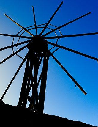 Garafía - Windmill of Llano Negro (Garafía)