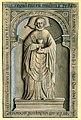 Maastricht, OLV-kerk, grafsteen zuidertransept (Ph v Gulpen, ca 1840-50).jpg