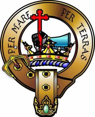 Battle of Blar Na Pairce - Image: Macdonald crest