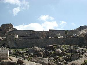 Madhugiri - Madhugiri fort