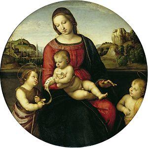 Terranuova Madonna - Image: Madona Terranova