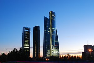 Madrid Skyline 2008