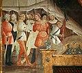 Maestro della cappella bracciolini (senese o pistoiese), storie di maria e santi, 1400-25 ca., morte di san luigi re, 04.jpg
