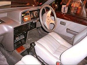 Austin Maestro - A later Vanden Plas interior