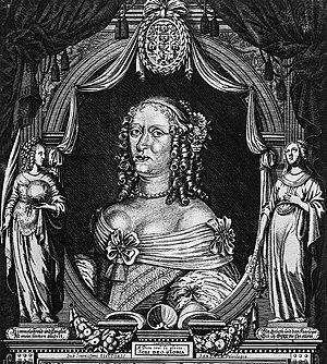 Margravine Magdalene Sibylle of Brandenburg-Bayreuth - Image: Magdalena Sibylla of Brandenburgh Bayreuth electress of Saxony