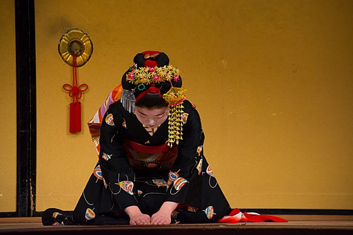 Maiko In Gion Kyoto Geisha District (135266873)