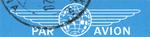 Mail label of Ukrposhta - Par Avion.png