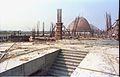 Main Auditorium and Dynamotion Hall Under Construction - Science City - Calcutta 1996-01-03 199.JPG