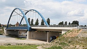 Main bridge Volkach