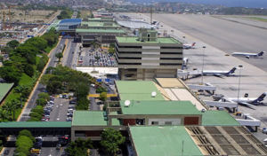 Maiquetía - Simón Bolívar International Airport in Maiquetia, Vargas.