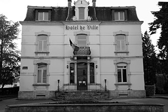 Athus - Hôtel de Ville of the municipality of Aubange, is situated in Athus