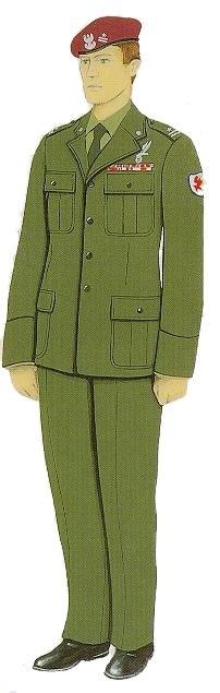 Uniform of a Major of the Polish Army