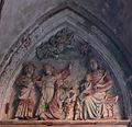 Malbork, Zamek Wysoki, Kaplica Św. Anny, tympanon portalu.01.jpg