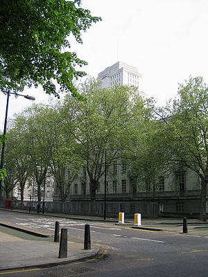 Malet Street - Malet Street and Senate House